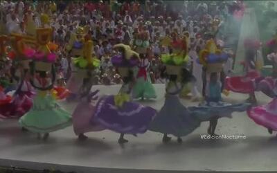 El colorido festejo de la Guelaguetza llegó a su fin en México