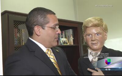 'Mr. Trompo' pide el voto de Quiquito Meléndez