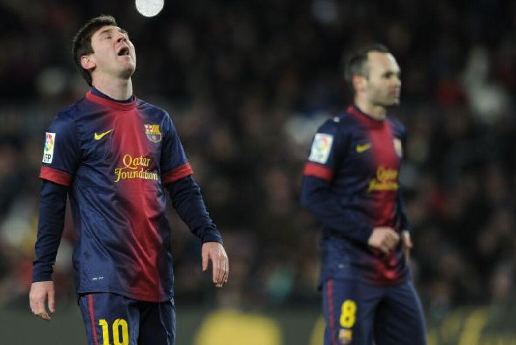 El Barcelona ha recibido al menos un gol en sus últimos 11 partidos.