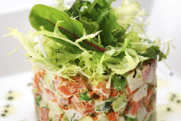 Un toque de aceite de oliva, sal, ¡y a gozar de esta fresca ensalada!