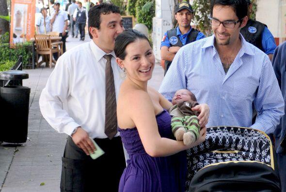 La conductora Claudia Lizaldi fue muy valiente al tener un parto natural...