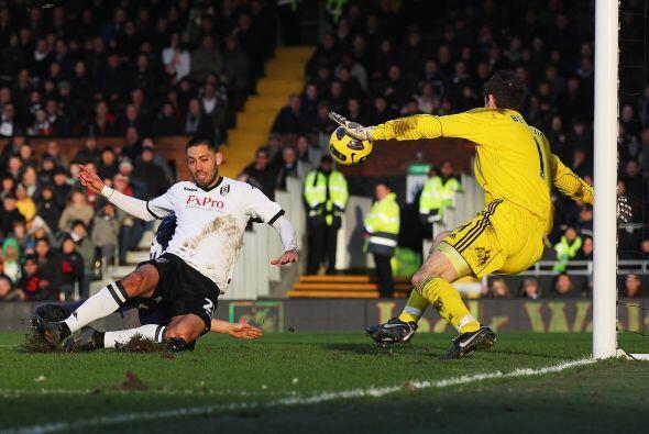 Demspey se encargó de convertir los dos goles del partido y liquidó el j...