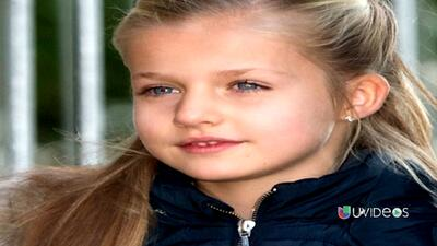 Leonor: la princesa más joven de Europa