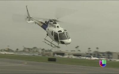 Hay versiones encontradas sobre helicóptero en la frontera