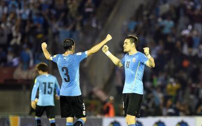 Uruguay suma nueve puntos en Conmebol.