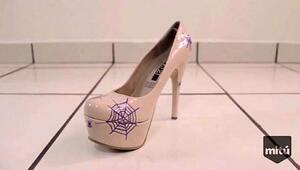Personaliza tus zapatos para Halloween