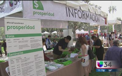 Feria Financiera de Univision Los Angeles