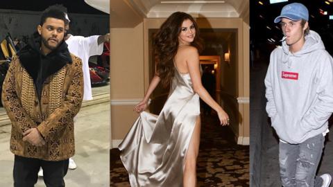 The Weeknd, Selena Gómez y Justin Bieber: ellos dos están...