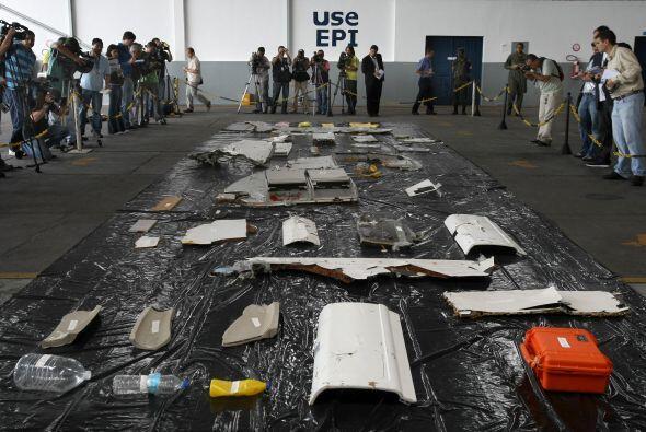 A casi dos años del accidente del vuelo Rio-París de Air F...