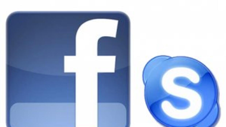 Facebook y Skype ya están asociados en la red social.