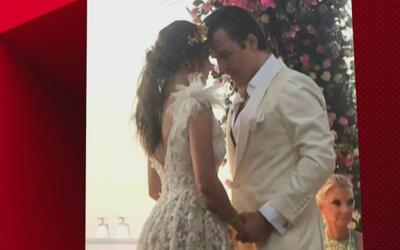 Claudia Álvarez y Billy Rovzar echaron la casa por la ventana en su boda