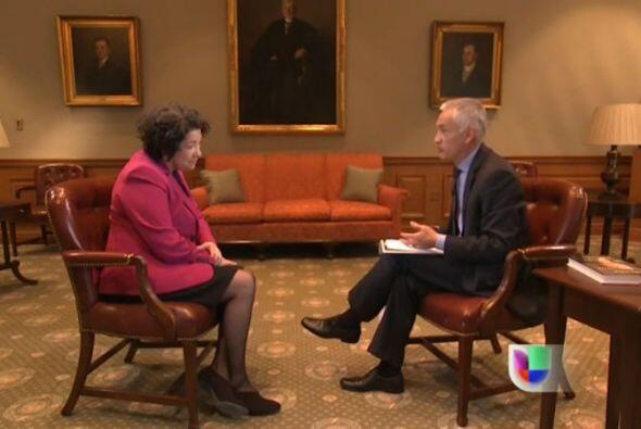 La jueza Sonia Sotomayor, la primera magistrada hispana en el máximo tri...