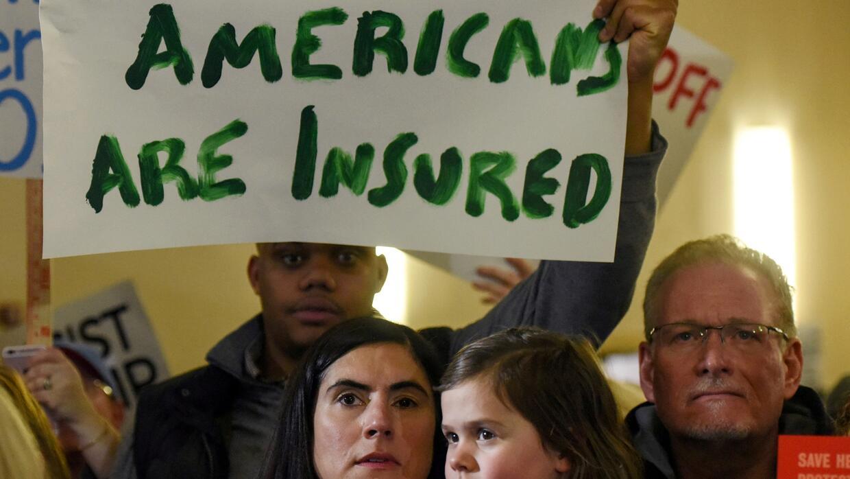 La derogación de Obamacare podría significar que más de 20 millones de e...