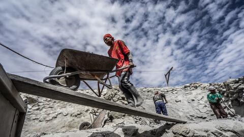 El Cerro Rico de Potosí es una de las mayores minas de plata del mundo.