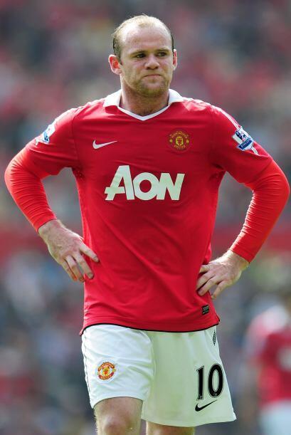 Rooney estuvo muy molesto durante gran parte del segundo tiempo.
