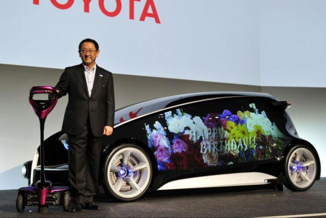 De acuerdo con Akio Toyoda, presidente de Toyota, el Fun-Vii es un Smart...