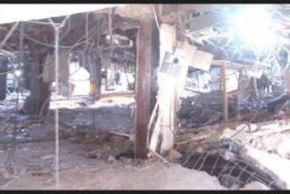 La tarde del jueves se registró una explosión en este lugar.