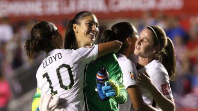 Estados Unidos y Alemania se enfrentarán en las semifinales.