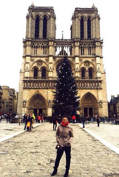 """Getting Cold #NotreDame #AlinaRobert"""