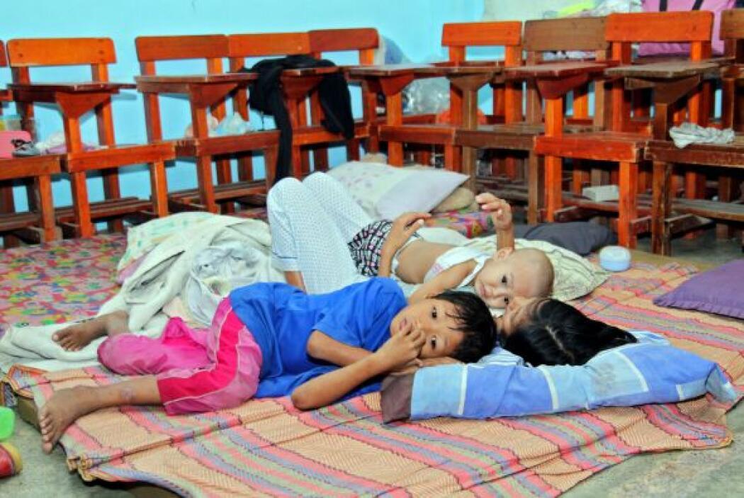 Al menos 120 mil personas se han quedado en Mindanao y la región de Visa...