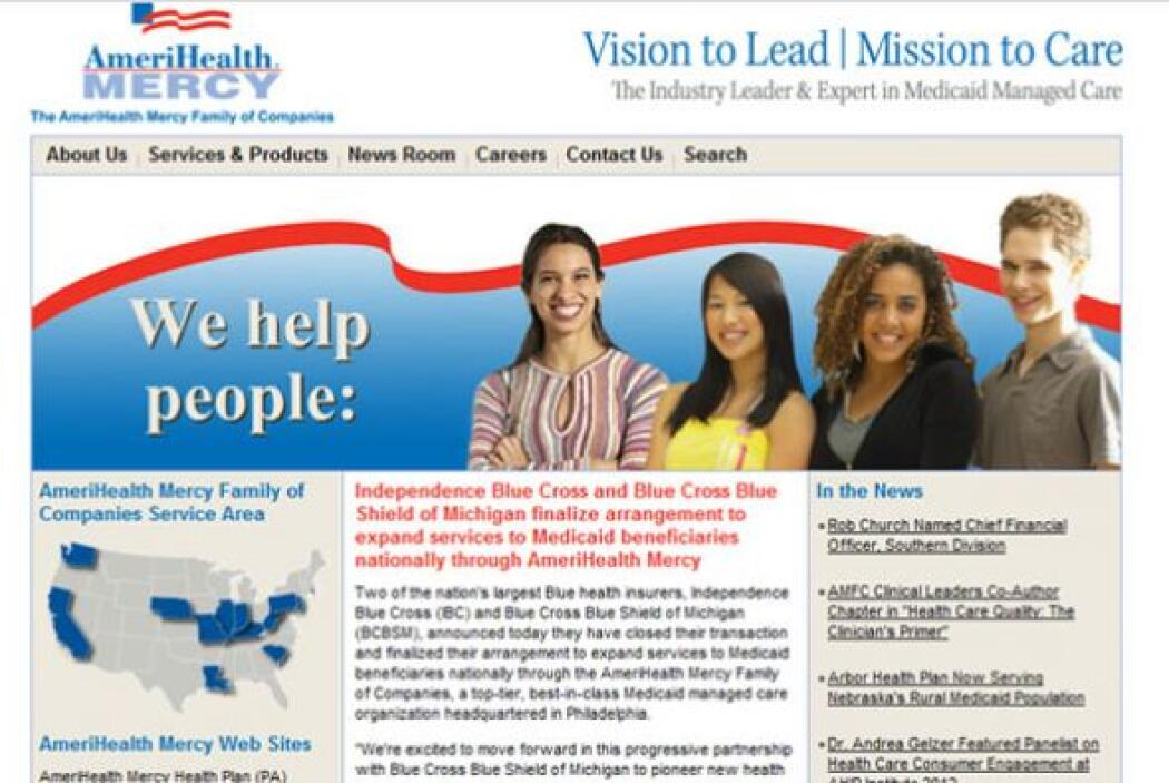 2. THE AMERIHEALTH MERCY FAMILY OF COMPANIES  Sector de la industria: Se...