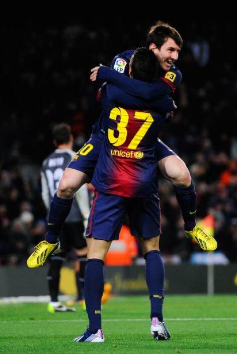 Barcelona también remontó ante el Sevilla luego de ir perdiendo 1-0.