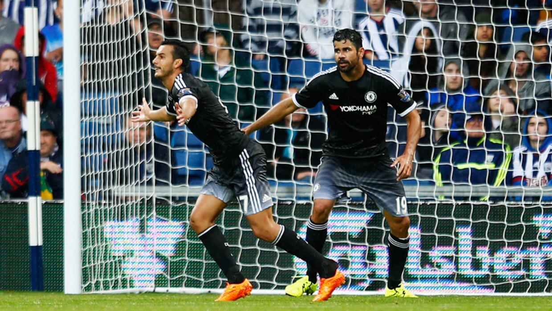 Pedro debuta marcando, Chelsea apenas ganó