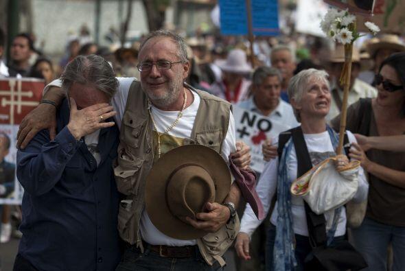 En su Marcha Nacional por la Paz, Sicilia superó las expectativas...