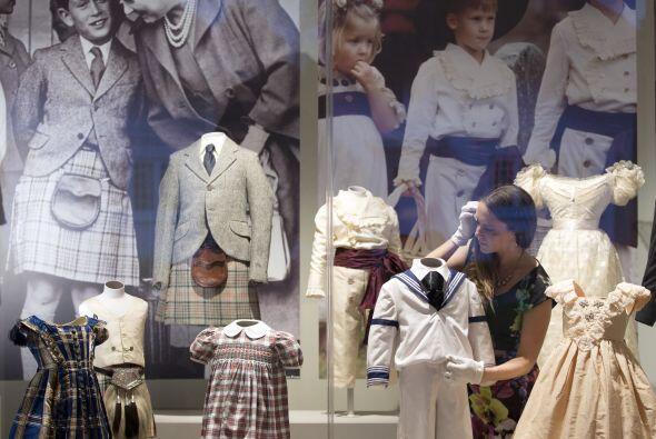 También hay una sala de la ropa que usaron los pequeños de la realeza en...
