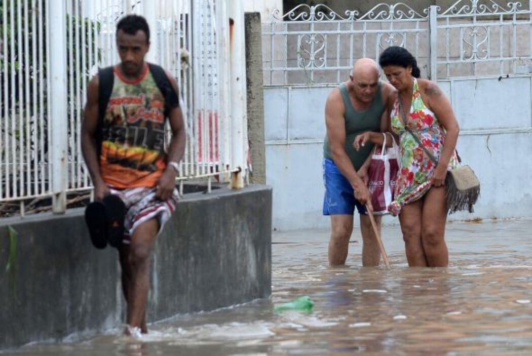En Nova Iguaçu, suburbio de la zona norte, las calles fueron sustituidas...