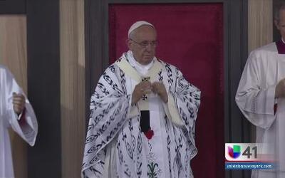 Segunda misa del Papa en Ecuador
