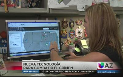Nueva tecnología para combatir el crimen