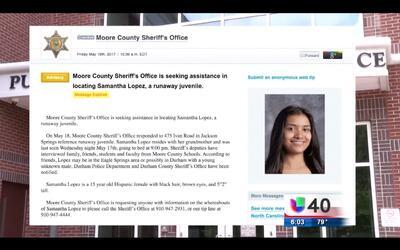 Una familia pide ayuda de la comunidad para encontrar a una joven de 15...