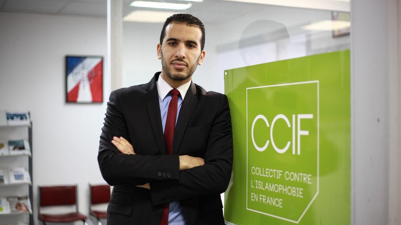 Yasser Louati, portavoz del Colectivo contra la islamofobia en Francia (...