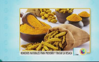 Remedios naturales para prevenir y tratar la resaca
