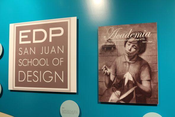2011- Se establece EDP San Juan School of Desing. La Institución...