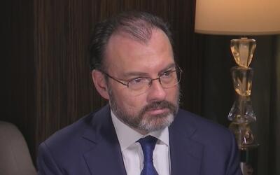 Luis Videgaray dice cómo se prepara México para recibir a mexicanos que...