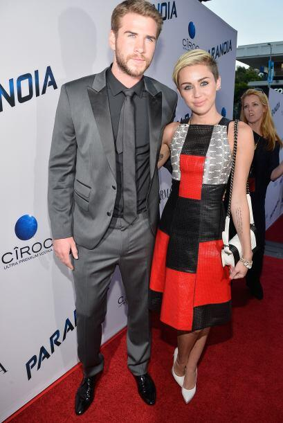 ¿Que Liam Hemsworth ya se cansó de Miley? ¡Para nada...
