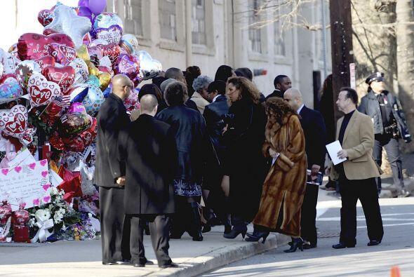 Los familiares de la cantante rindieron homenaje a su vida y su talento...