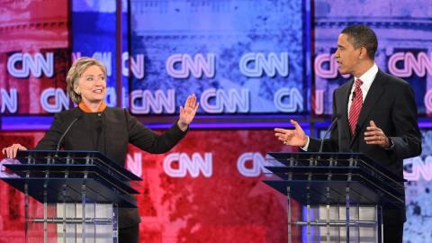Primarias Carolina del Sur GettyImages-Obama-Clinton-Debate-2008.jpg