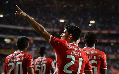 Benfica derrotó 3-1 al Braga