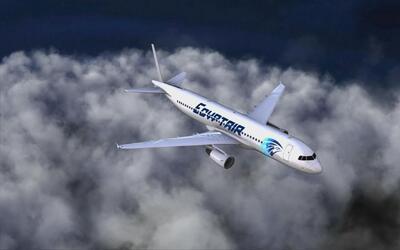 Animación: el último rastro del vuelo 804 de EgyptAir