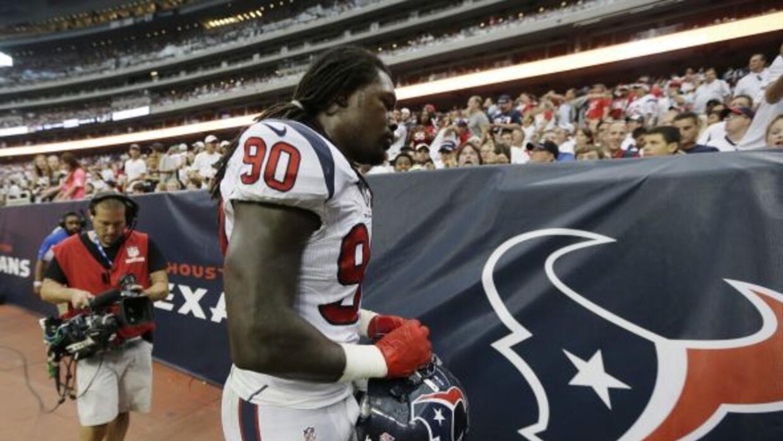 Se confirmó la causa de la lesión deJadeveon Clowney. (NFL-AP)