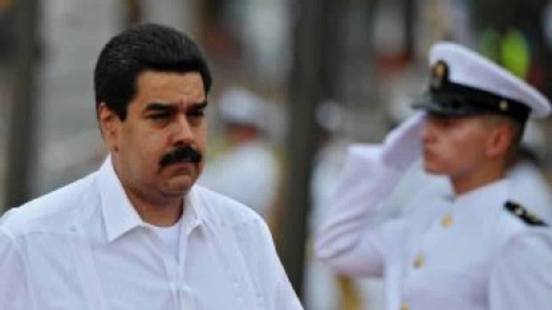 El vicepresidente y ministro de Relaciones Exteriores de Venezuela, Nico...