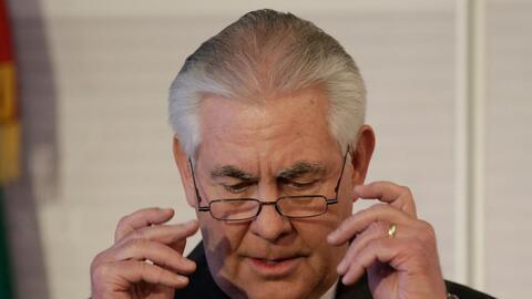 El secretario Tillerson decidió en febrero que no se involucrar&i...