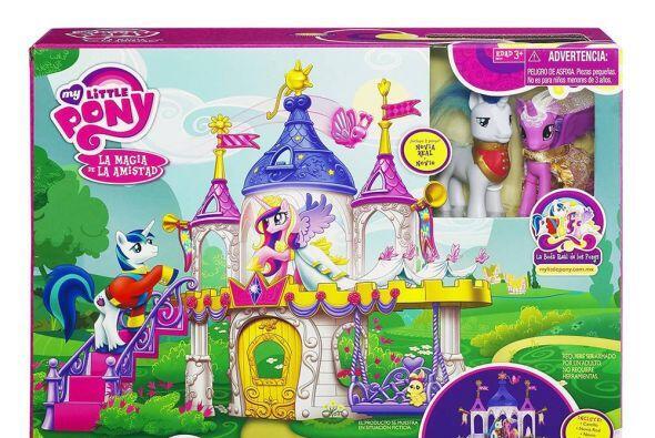 """""""Castillo Boda My Little Pony"""": este castillo de Hasbro ofrece a las niñ..."""