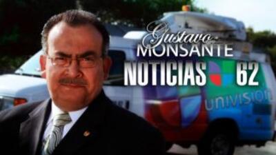 Gustavo Monsante, conductor de Univision 62.