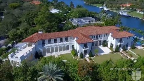 Miami mansion purchased for $16.5 million by company controlled by alleg...