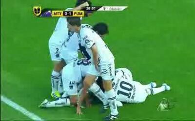Monterrey empató con Pumas