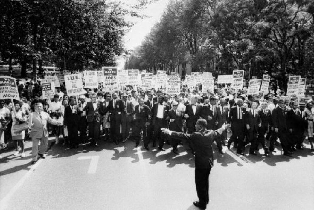 Las organizaciones de base con que contaba el movimiento por los derecho...